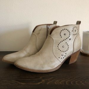 Mi.iM tan leather booties bought at Buckle